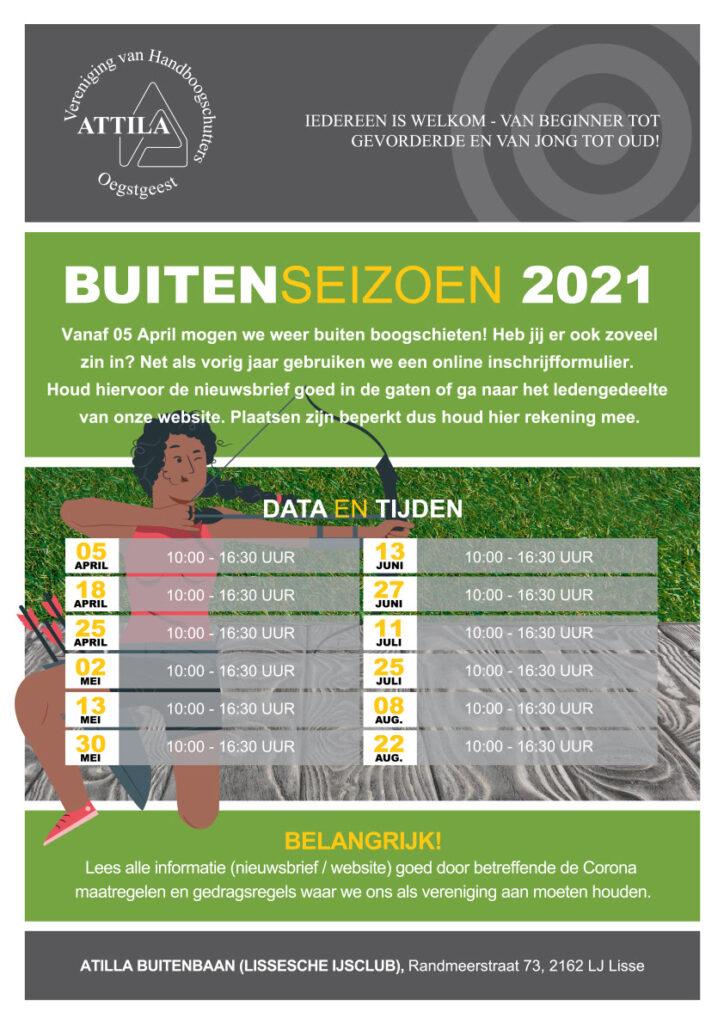 Buitenseizoen 2021